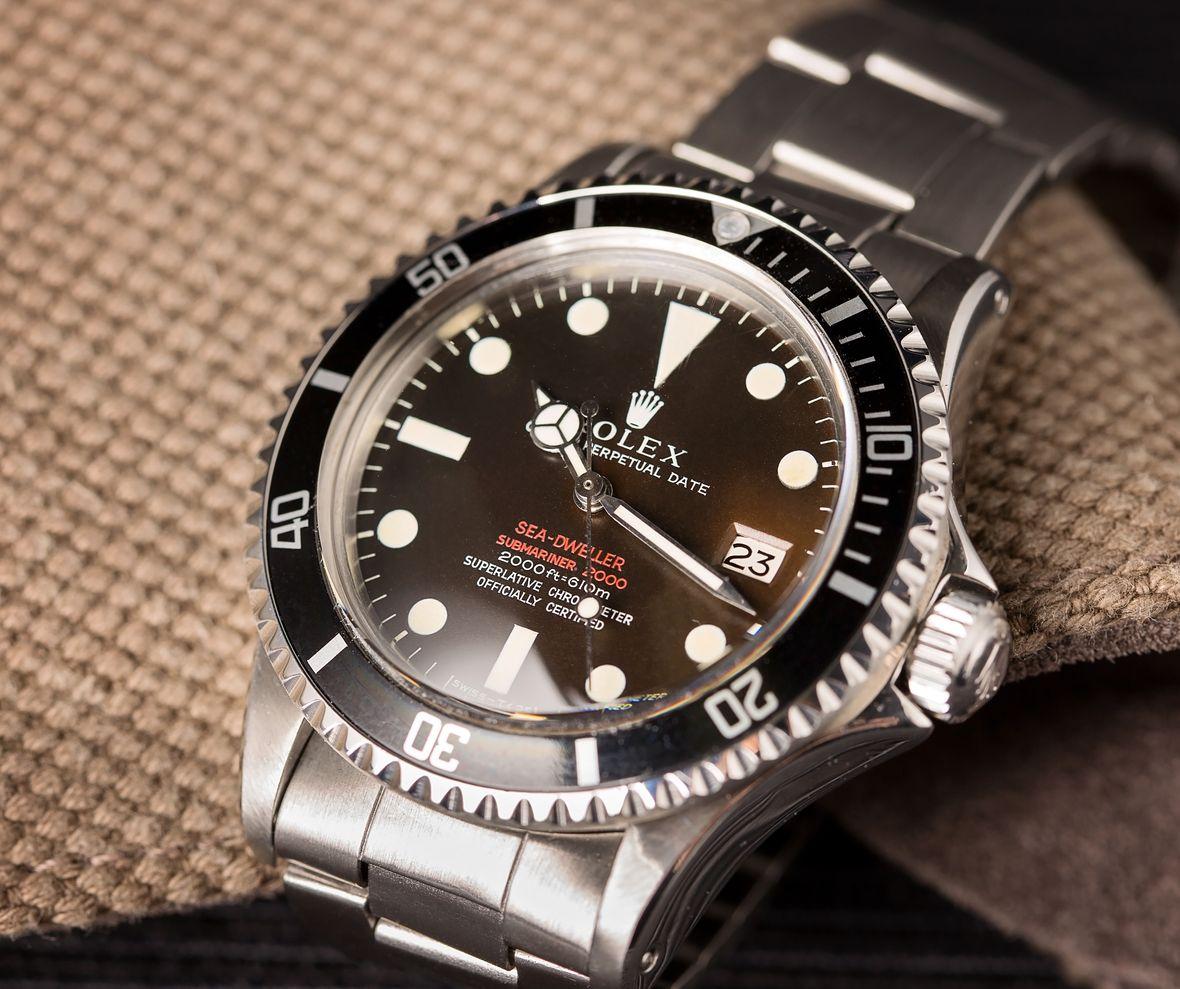 Double Red Sea-Dweller Rolex 1665 DRSD