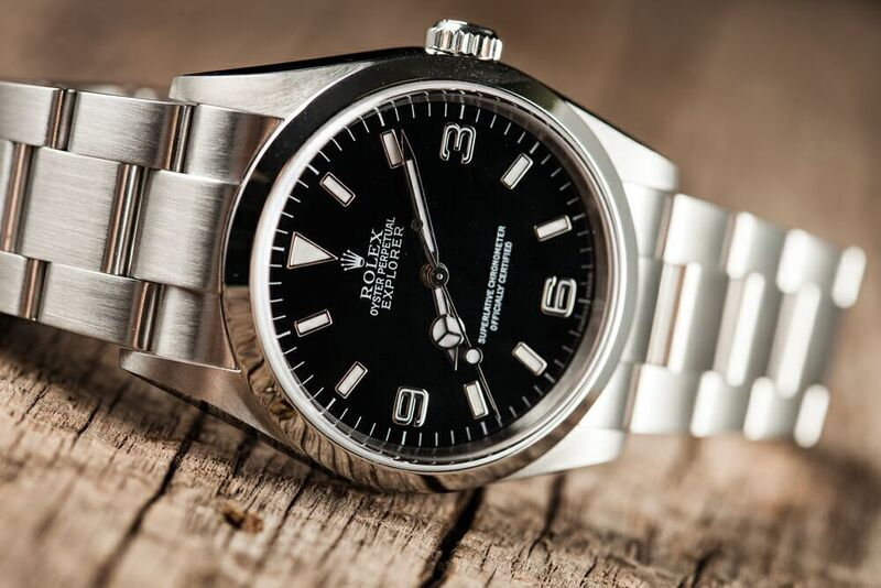 Rolex Explorer Watch - Vintage Model