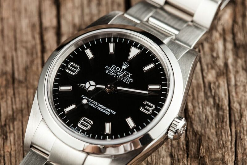 A Rolex Explorer 214270