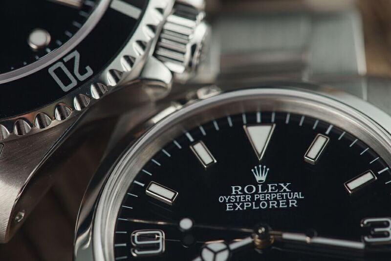 Rolex Vintage Explorer Timepiece