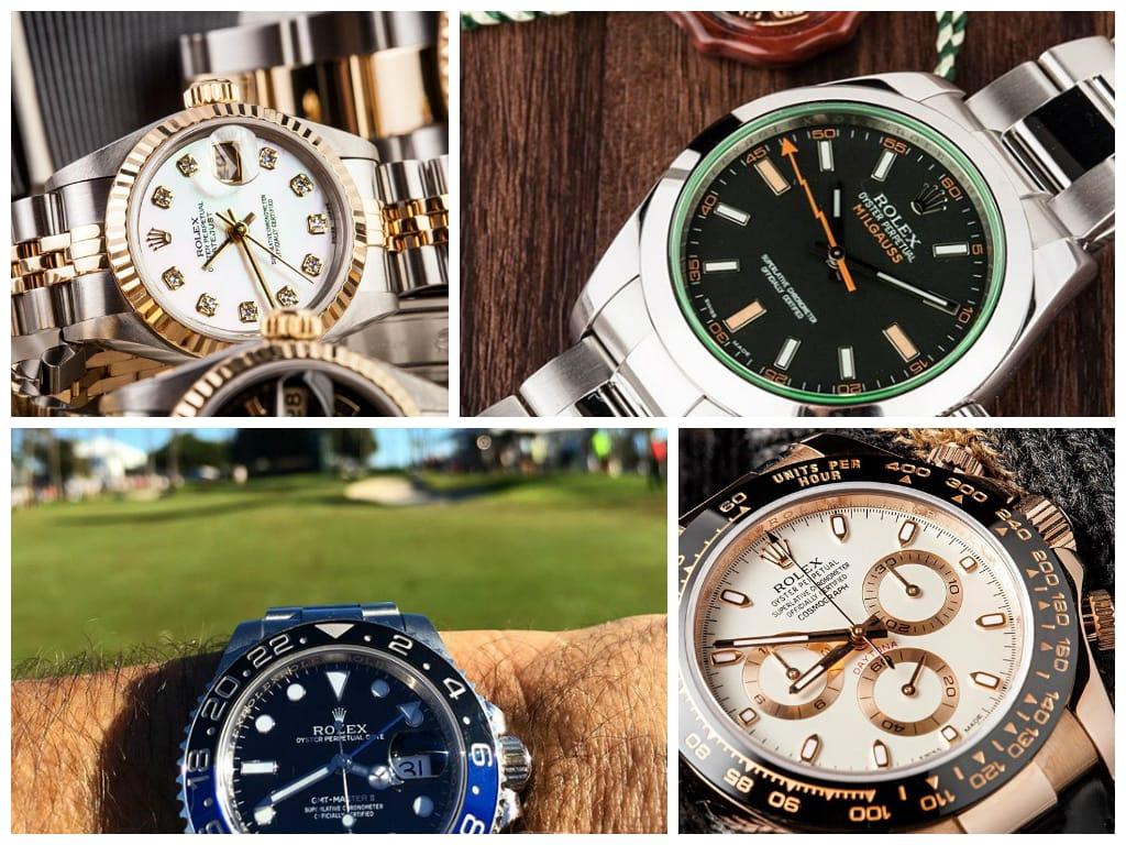 Rolex Watches instagram photos