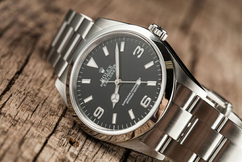 Vintage Rolex Explorer Wristwatch