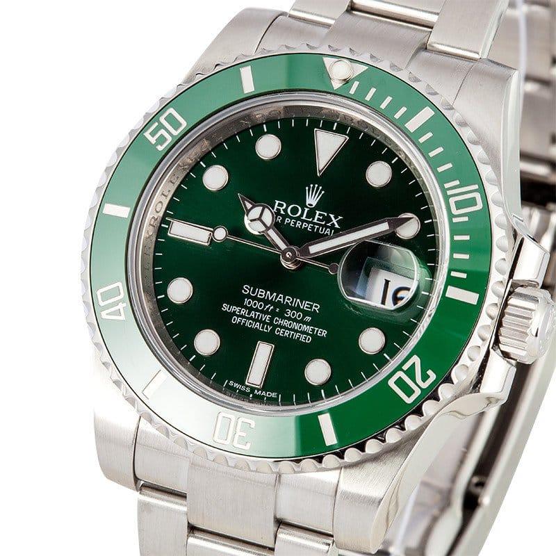 Green Rolex Submariner Date