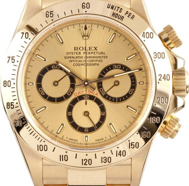 This all gold best selling Daytona was at Bob's Watches.