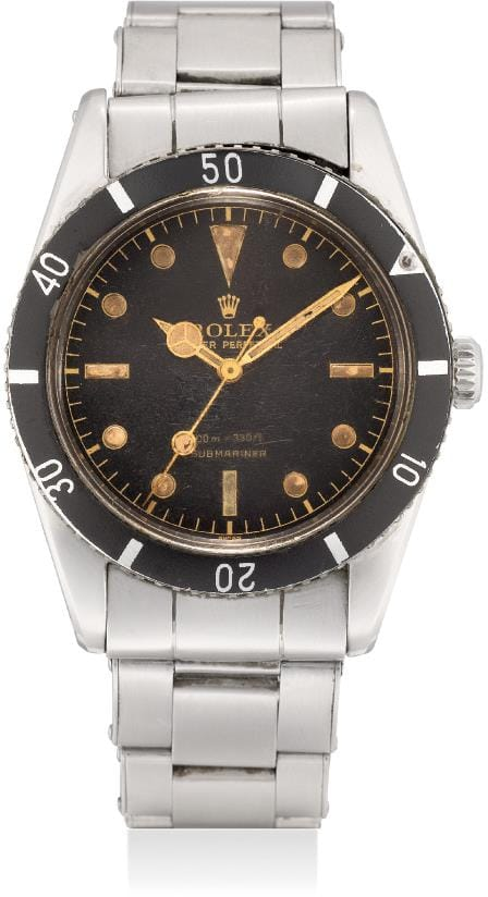 Rolex Submariner 6536-1 Small Crown