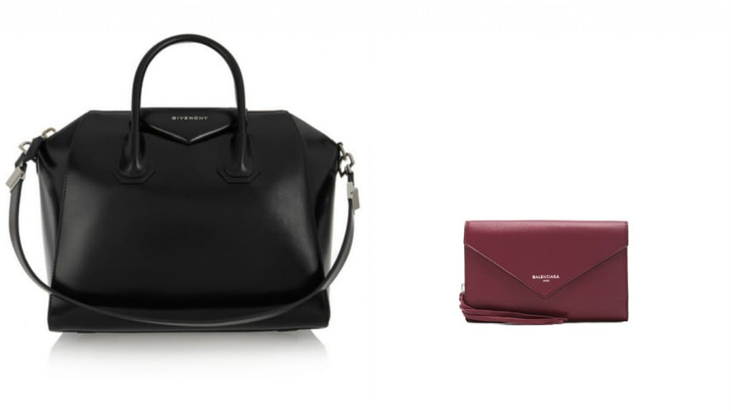Givenchy-Purse-Balanciaga-Wallet