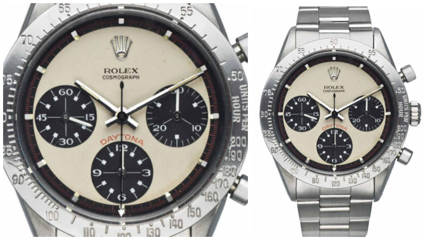Lot 132 Rolex Cosmograph Daytona Paul Newman 6239