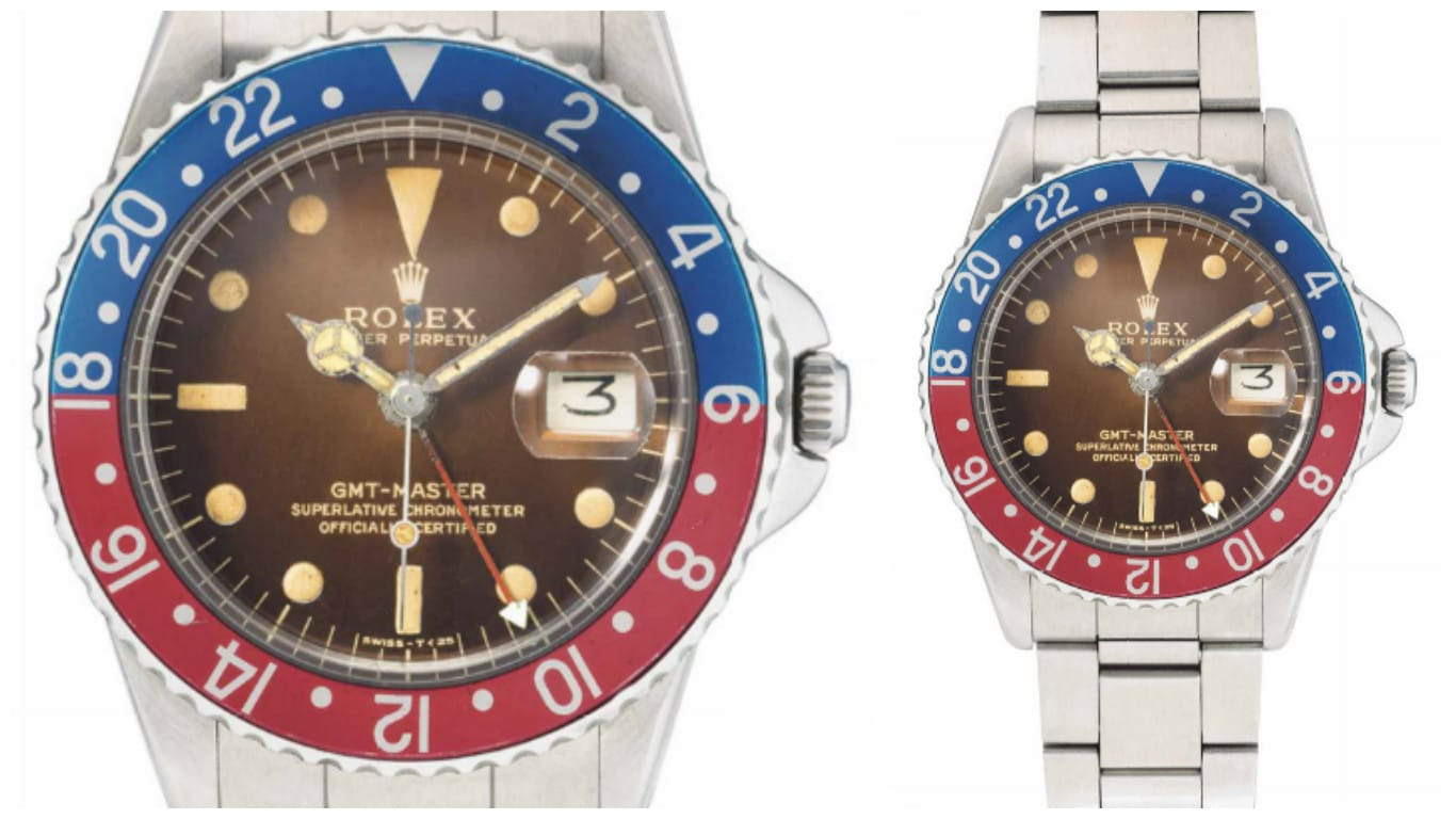Lot 25 GMT-Master 1675 Pointed Crown Guards