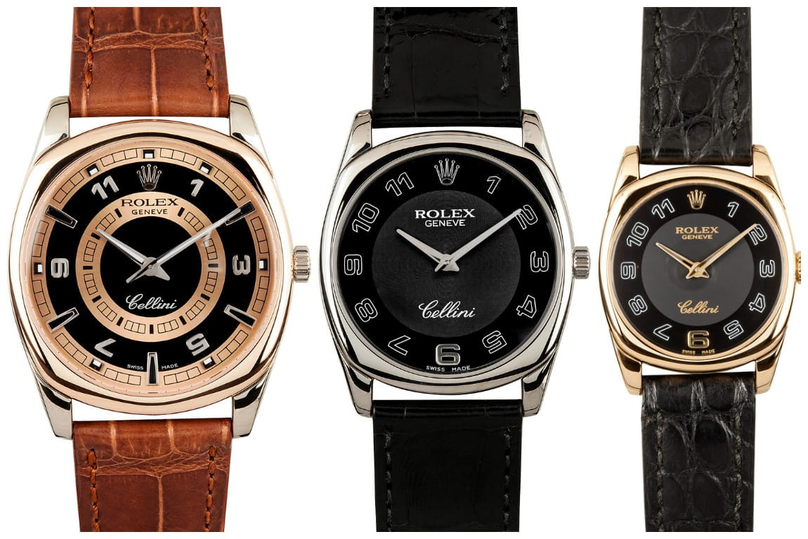 The History of the Rolex Cellini