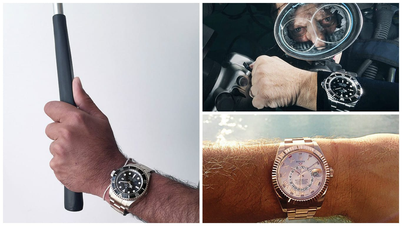 11 Pictures Welcoming Rolex to Instagram