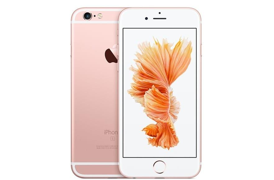 iPhone 6s (Image courtesy of Apple)