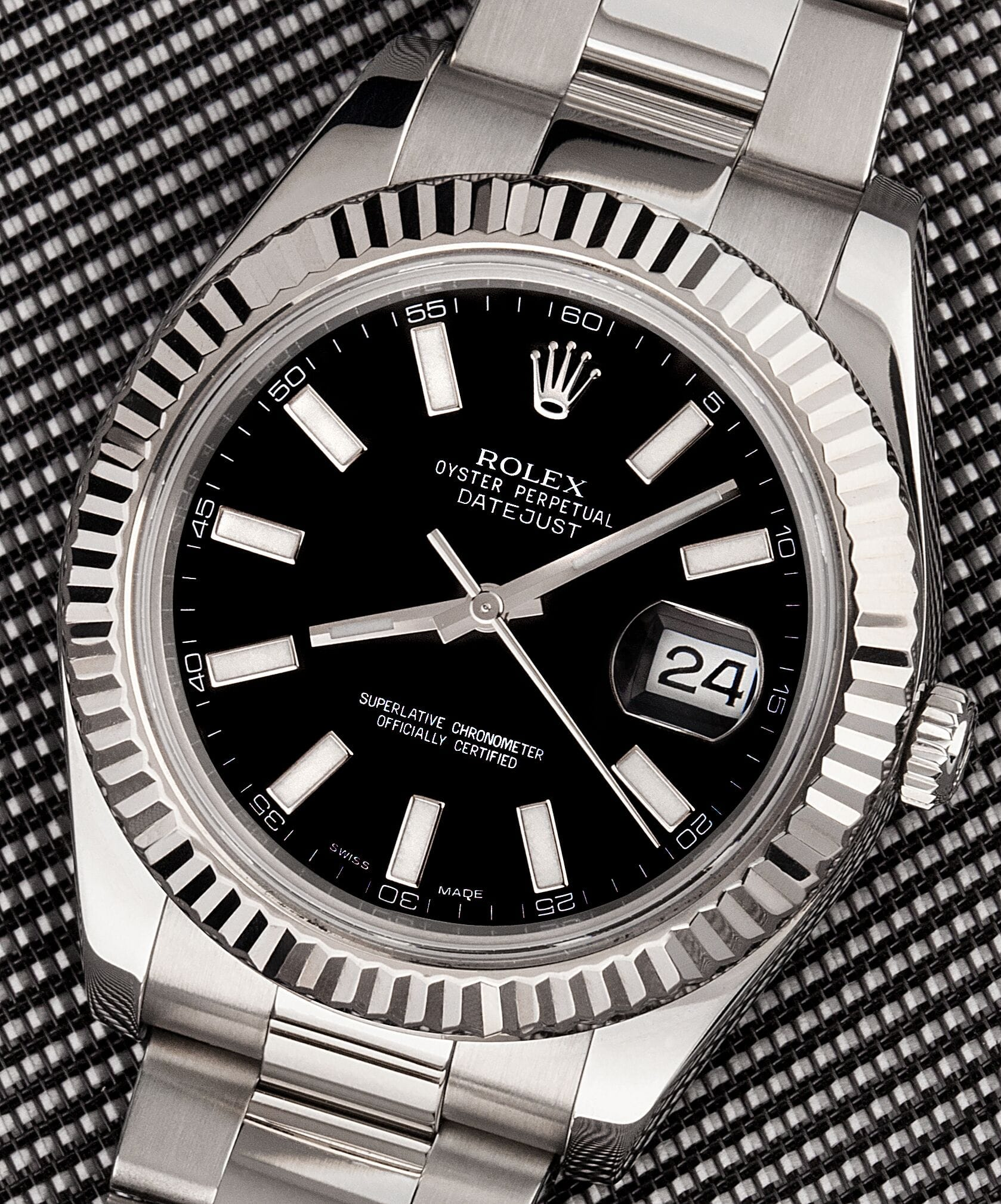 oyster rolex gao steel datejust perpetual watches watch ii