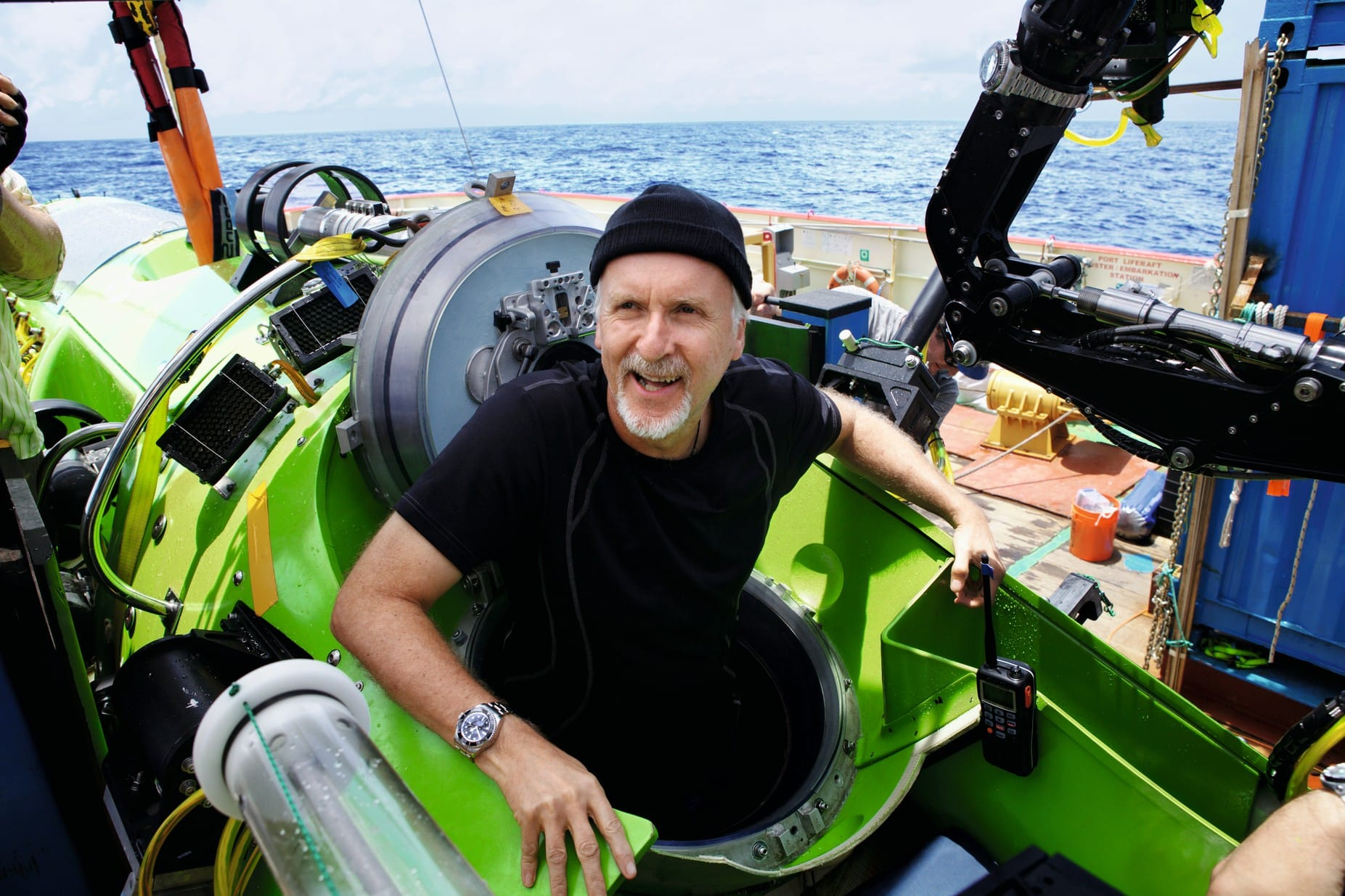 James Cameron is the perfect bridge between adventure and entertainment.