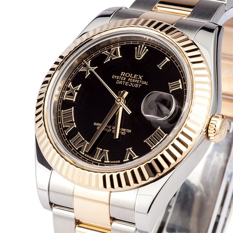 Datejust II 41mm two-tone 116333