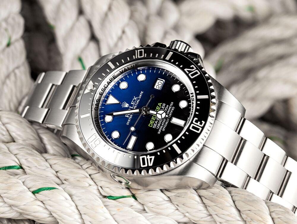 12 800 Feet Under The Sea With A Rolex Deepsea Sea Dweller