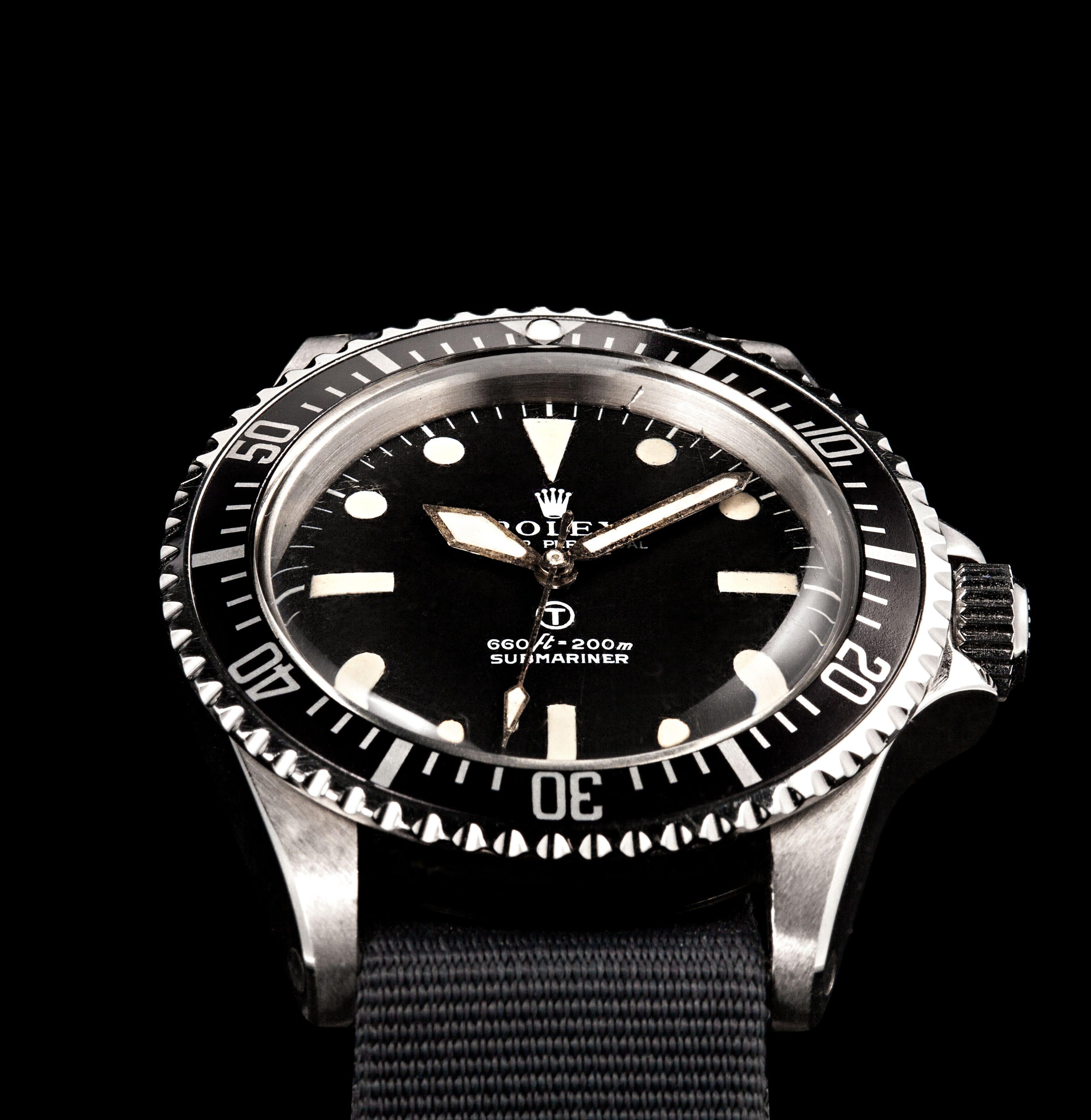 History of Rolex Military Watches - milsub submariner 5513 5517