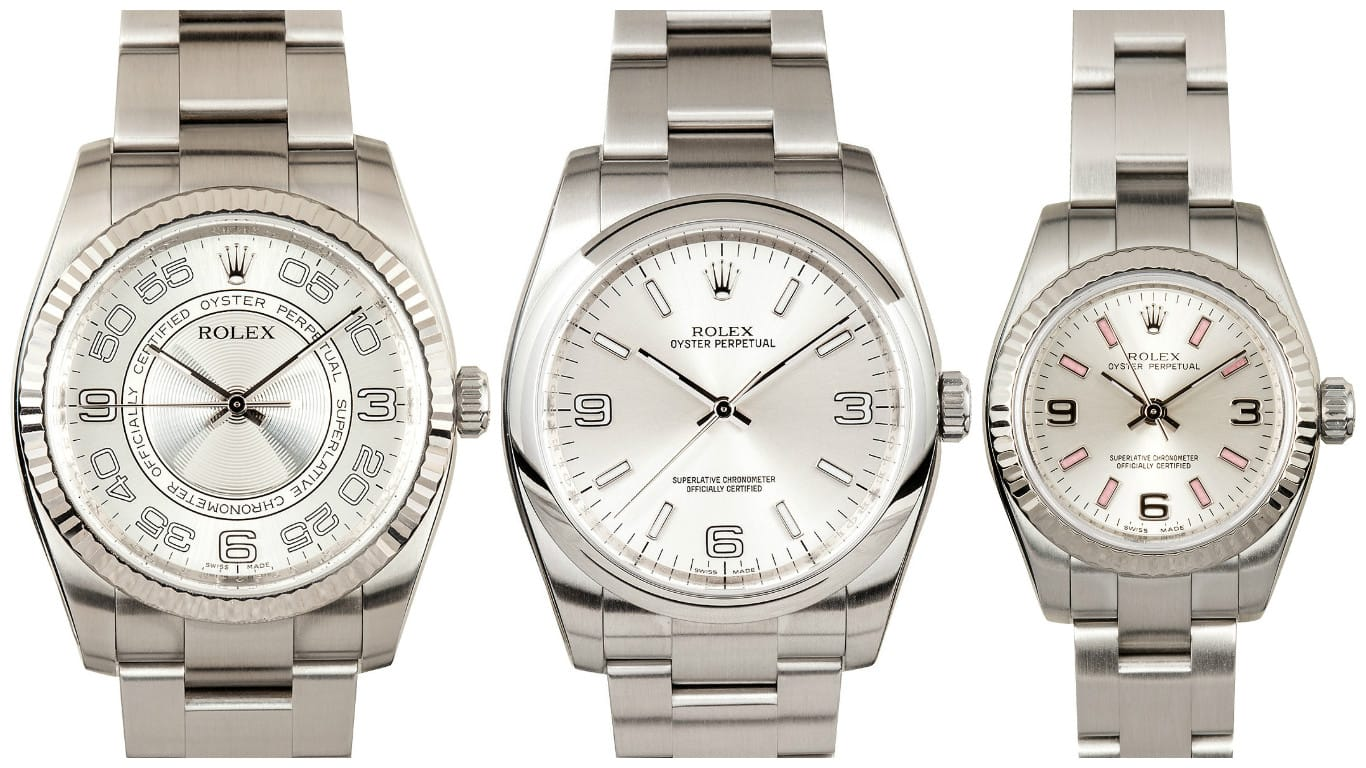 Silver Oyster Perpetual