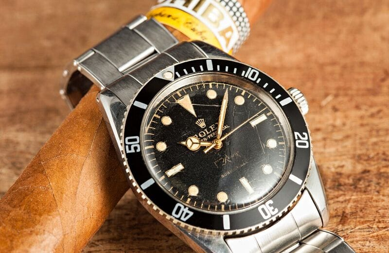 First Rolex Watch Ever Made vintage submariner Joyería Riviera