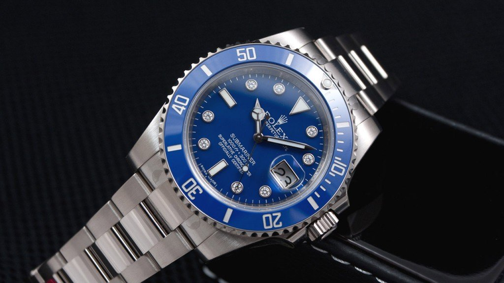 Rolex Submariner 116619 Diamond Dial
