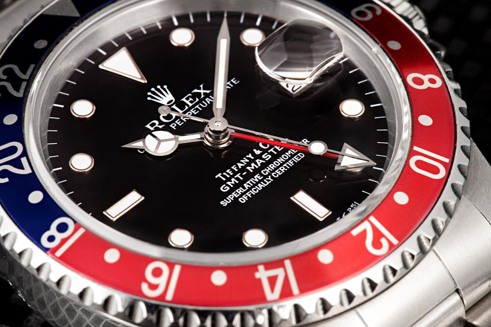 Vintage Rolex GMT-Master 16700 Tiffany & Co. Dial