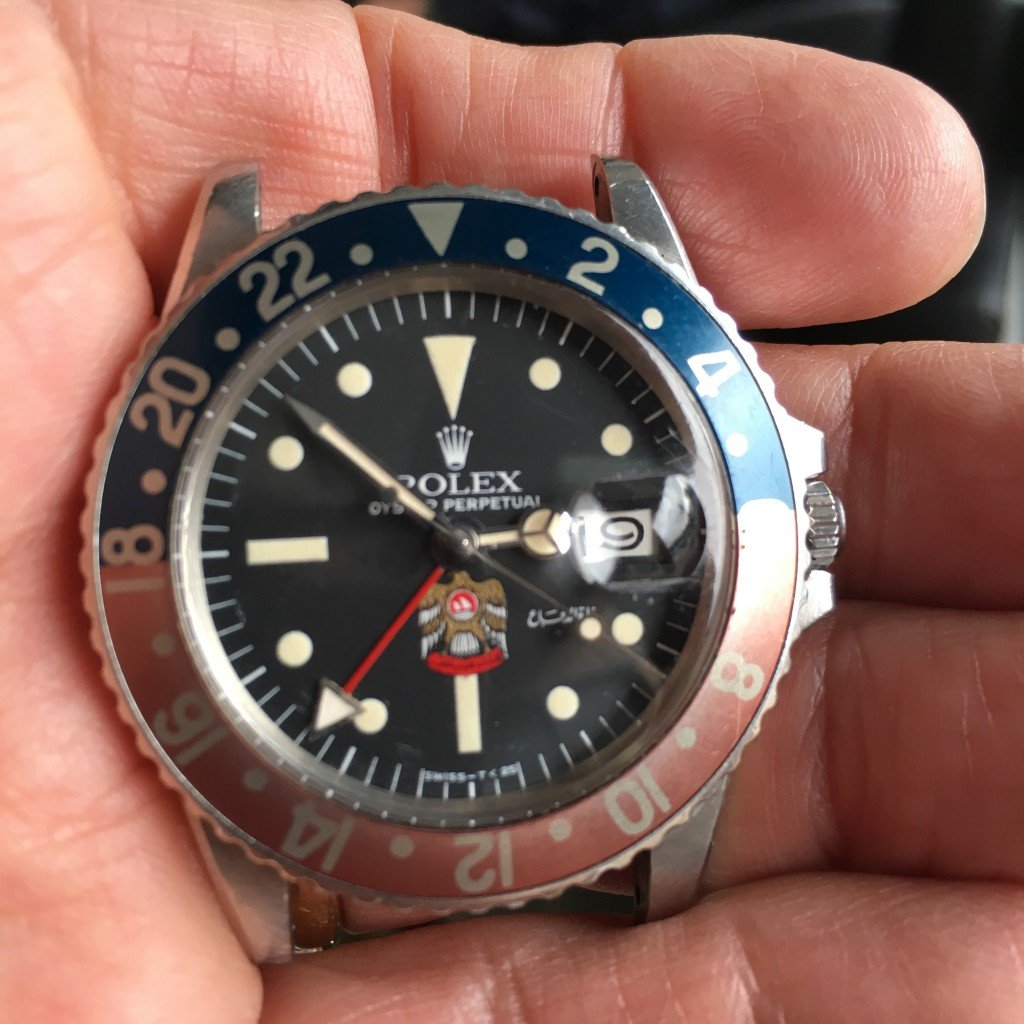 rolex gmt watch uae in stainless steel