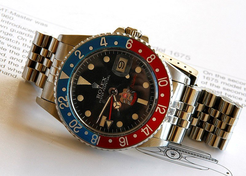 vintage gmt 1675 uae watch from bob's watches private vault