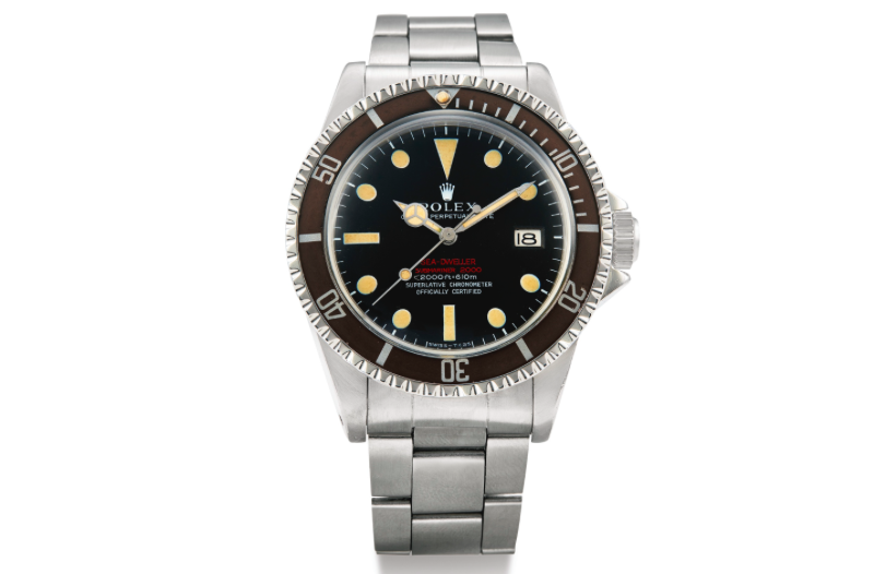 Rolex Double Red Sea-Dweller 1665 (Image courtesy of Sotheby's)