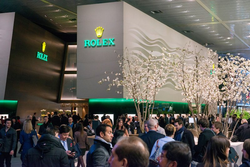 Rolex at Baselworld 2016 (Image courtesy of Baselworld)