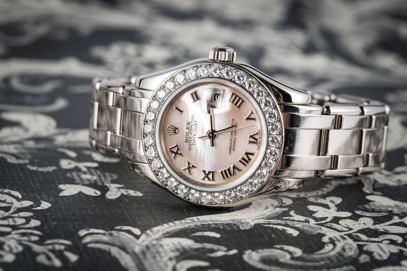 A Pearlmaster is elegant, beautiful and its from Bob's Watches.