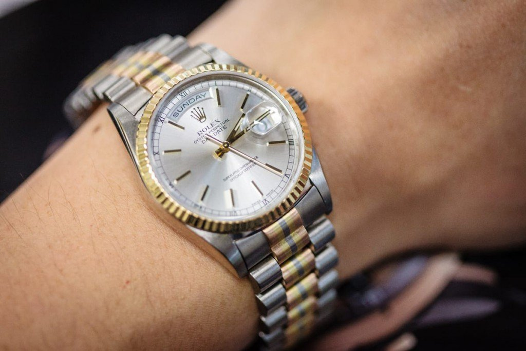 3 Colors On A Single Bracelet The Rolex Tridor Bob S