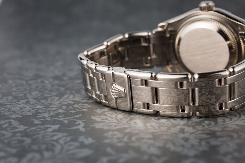 Rolex Pearlmaster Crownclasp