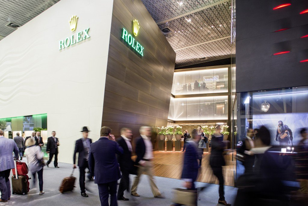 Rolex Pavilion at Baselworld 2015 (Image Courtesy of Baselworld)