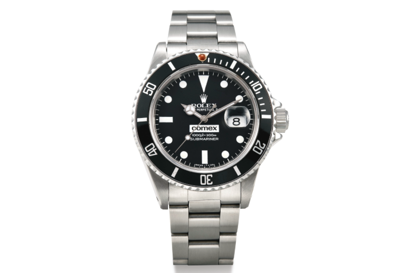Rolex COMEX Submariner 16800 (Image courtesy of Sotheby's)