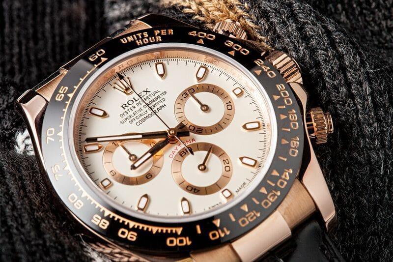 Rolex pink gold Daytona