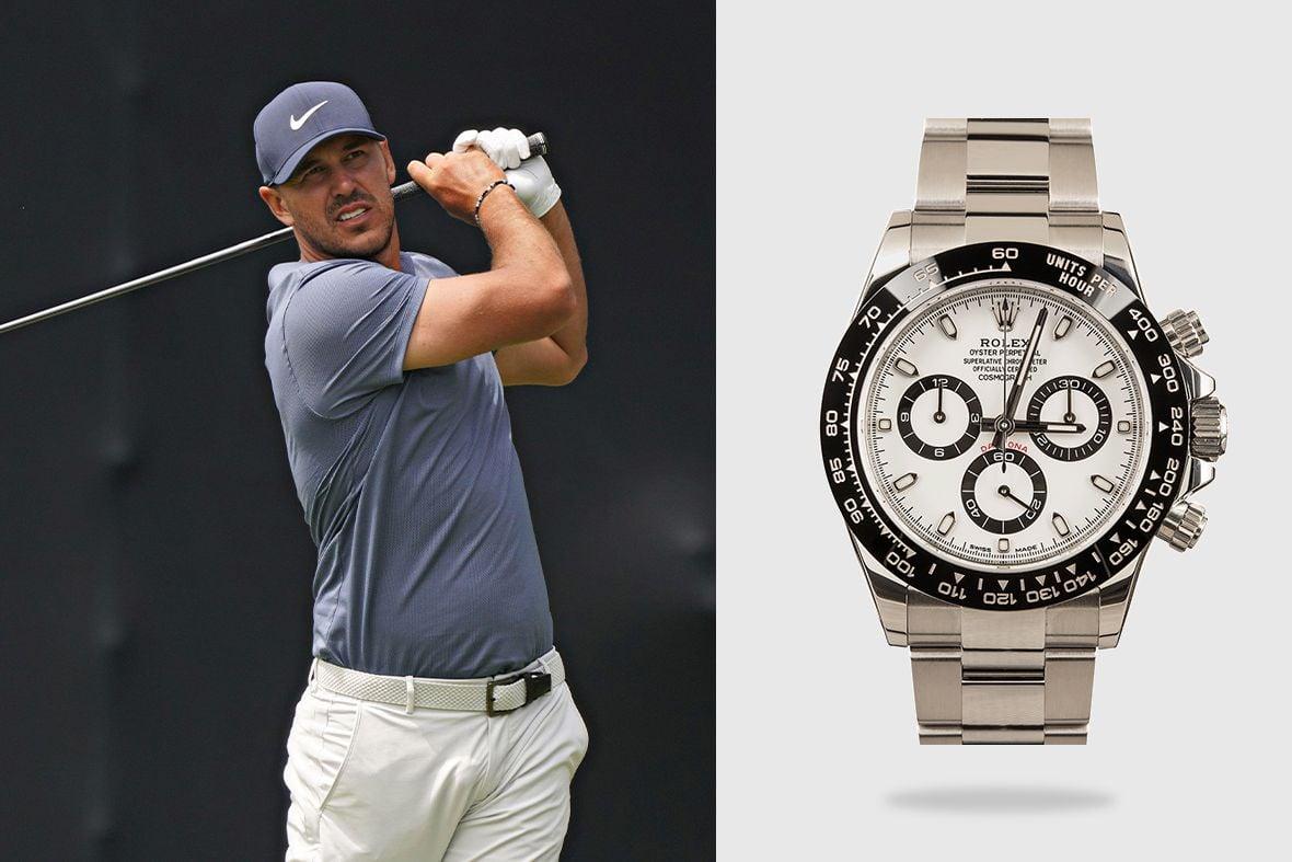 Rolex Golf Ambassadors Brooks Koepka Daytona