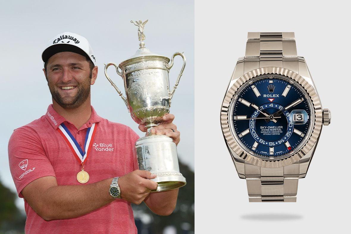 Rolex Golf Ambassadors Jon Rahm Sky-Dweller