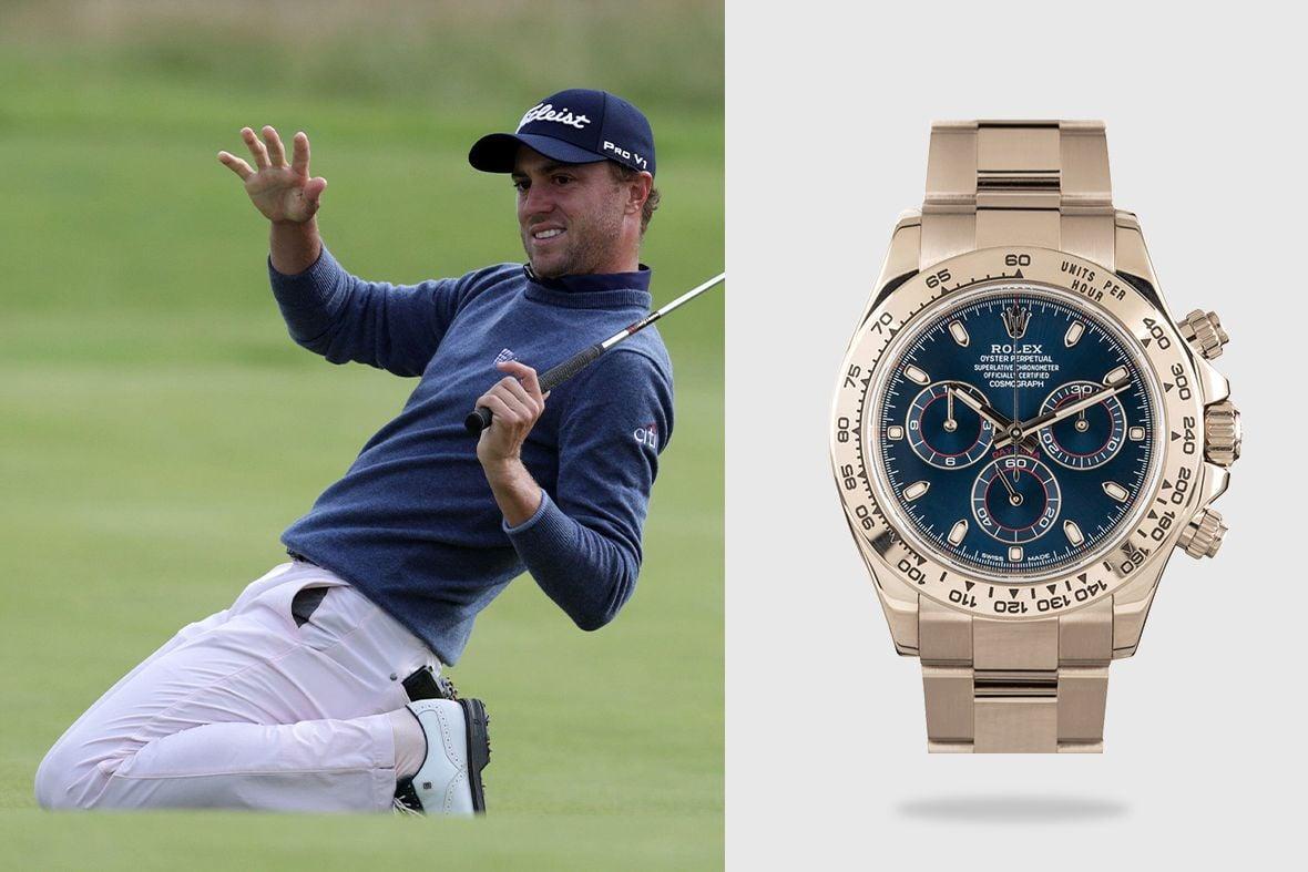 Rolex Golf Ambassadors Justin Thomas Daytona