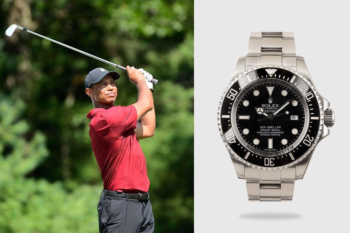 Rolex Golf Ambassadors Tiger Woods Deepsea Sea-Dweller