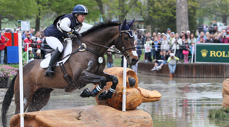 Jan Byyny. (Image courtesy of Rolex Kentucky Three-Day Event Photo by Ben Radvanyi)