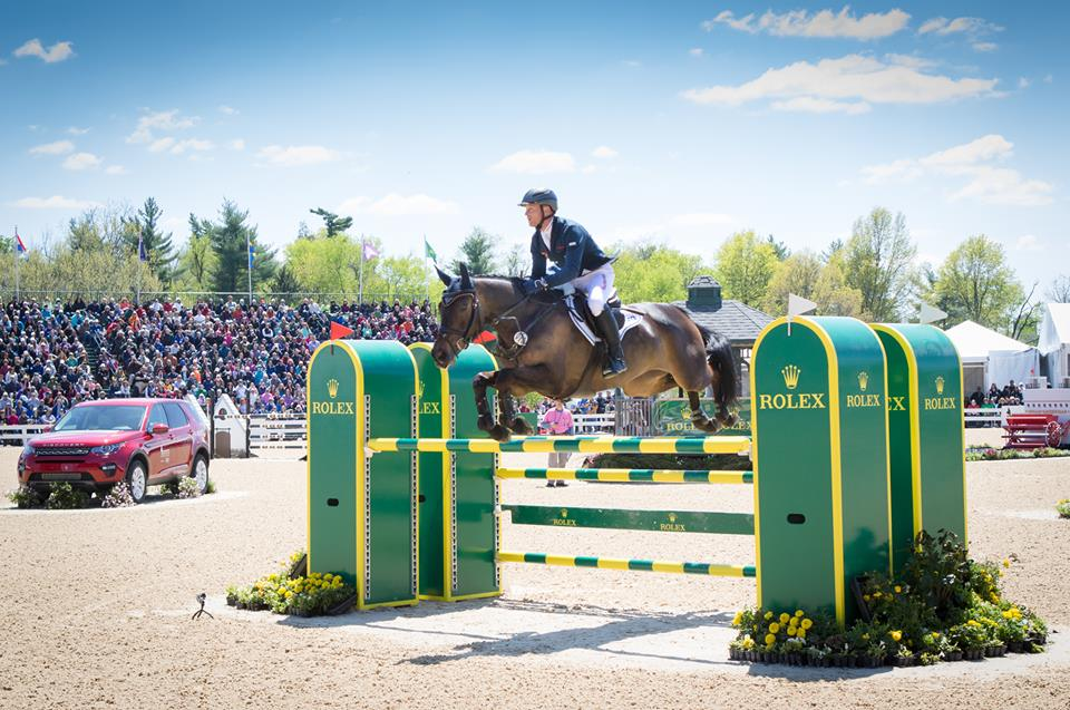 Michael Jung riding Fischerrocana FST (Image courtesy of Rolex Kentucky Three-Day Event)