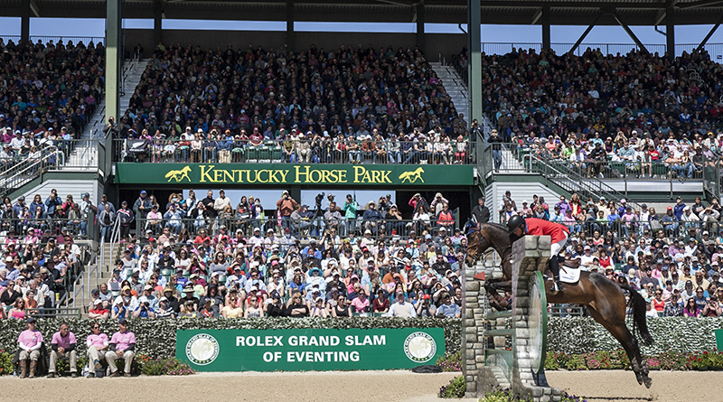 Phillip Dutton riding Fernhill Cubalawn (Image courtesy of Rolex Kentucky Three-Day Event Photo by Ben Radvanyi)
