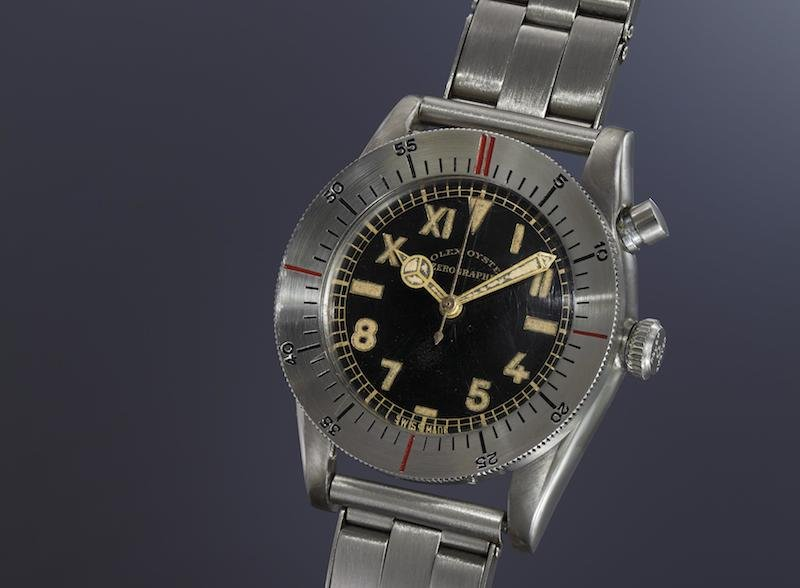 Rolex Ref. 3346 Zerographe (Image courtesy of Phillips)