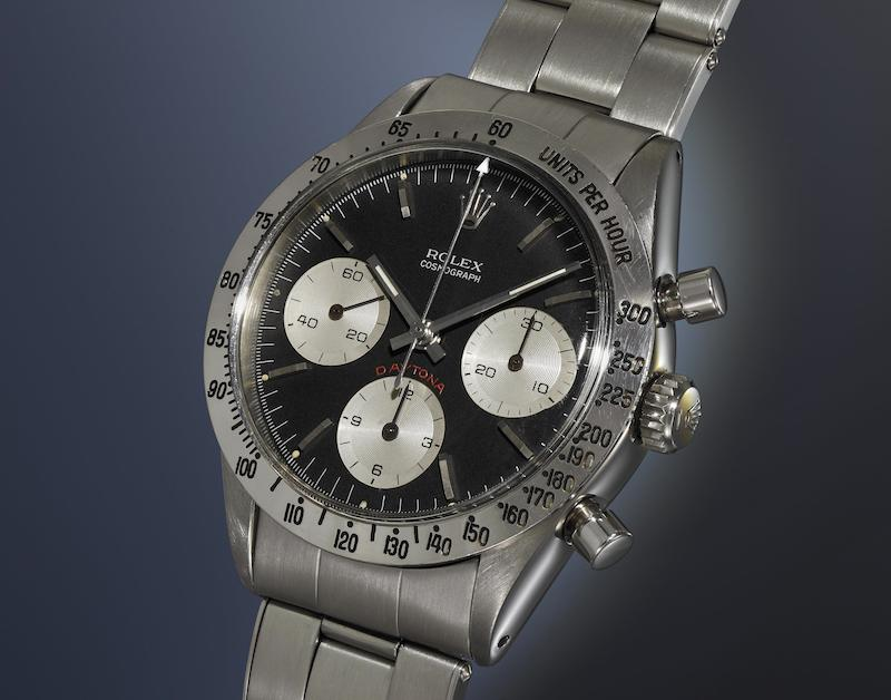 Rolex Ref. 6239 'Cherry Logo' (Image courtesy of Phillips)