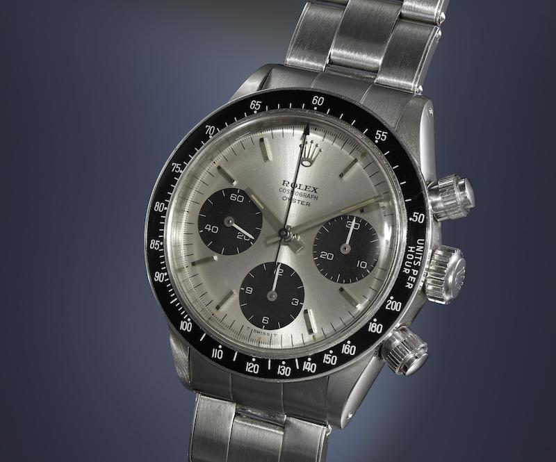Rolex Ref. 6240 'Oyster Alpina' (Image courtesy of Phillips)