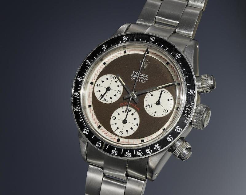 Rolex Ref. 6263 'Tropical Oyster Sotto' (Image courtesy of Phillips)