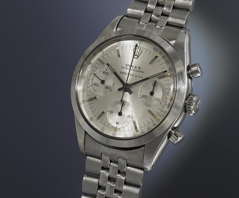 Rolex 'Pre-Daytona Tiffany & Co. (Image courtesy of Phillips)