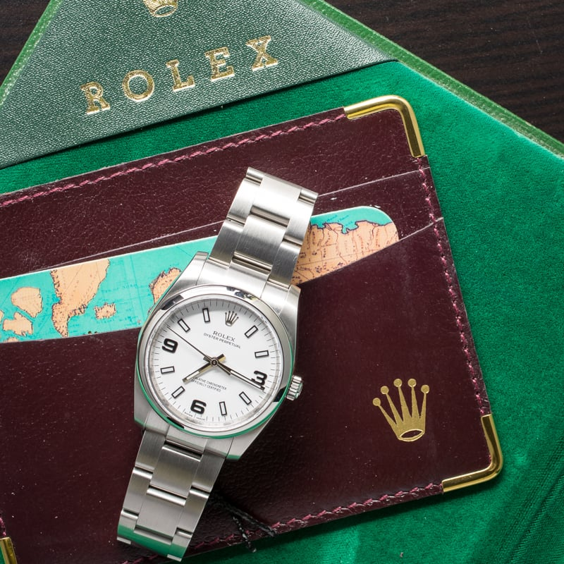 Rolex Oyster Perpetual Case Sizes