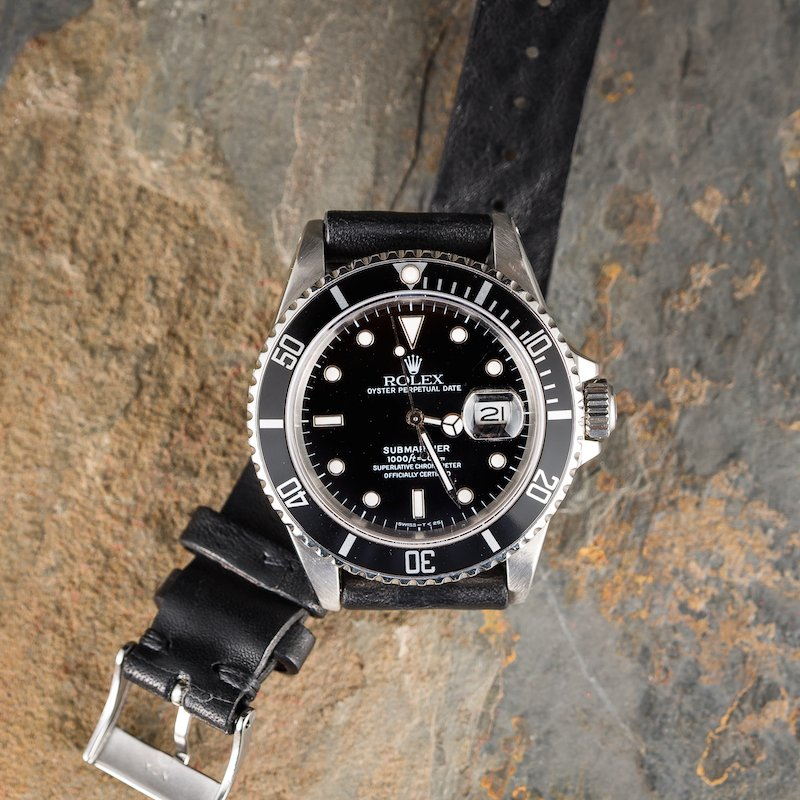 The Submariner 16610 is a watch that brings a lot of history.