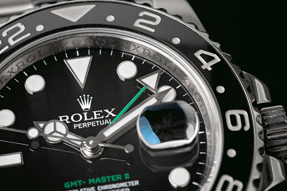 Rolex GMT-Master II 116710LN Green GMT-Hand