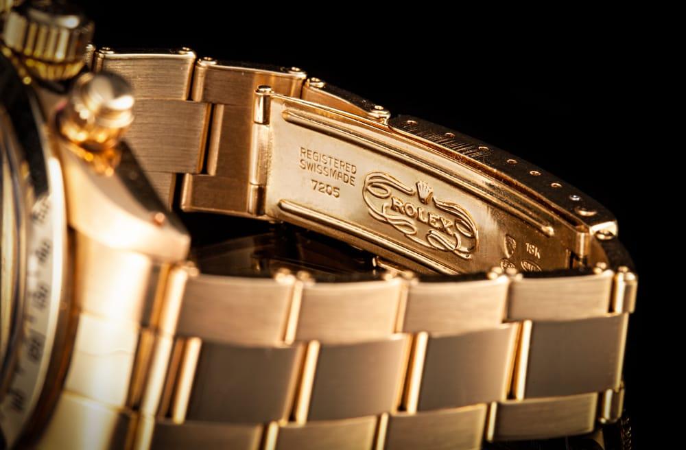 Rolex 18k gold vintage Daytona 6265